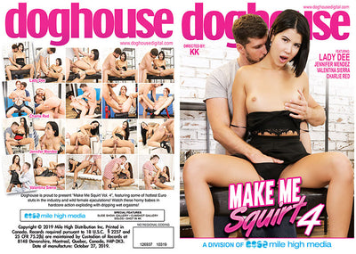 Make Me Squirt 4 Doghouse - All Sex Sealed DVD