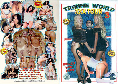 Trannie World XXX Tour #3 - Channel 69 Sealed DVD