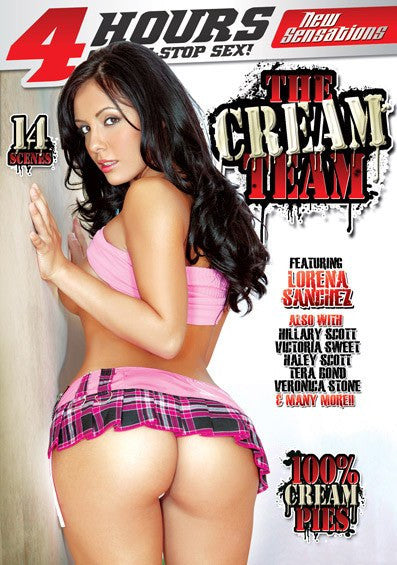 The Cream Team - New Sensations 4 Hour DVD