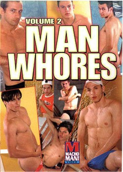 Man Whores #2 - Gay DVD