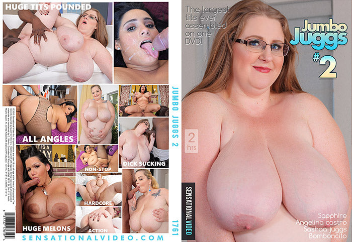 Jumbo Juggs #2 - Sensational Sealed BBW DVD