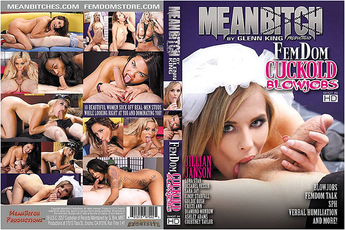 Femdom Cuckold Blowjobs #1 - Meanbitch Sealed DVD