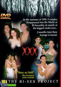 The Bi Sex Project  Bisexual  DVD