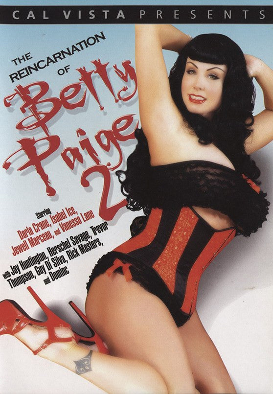 The Reincarnation of Betty Page #1 & #2 Cal Vista Sealed 2 DVD Set