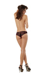 Dreamgirl Lingerie Cheeky Panty Red/Black size XL