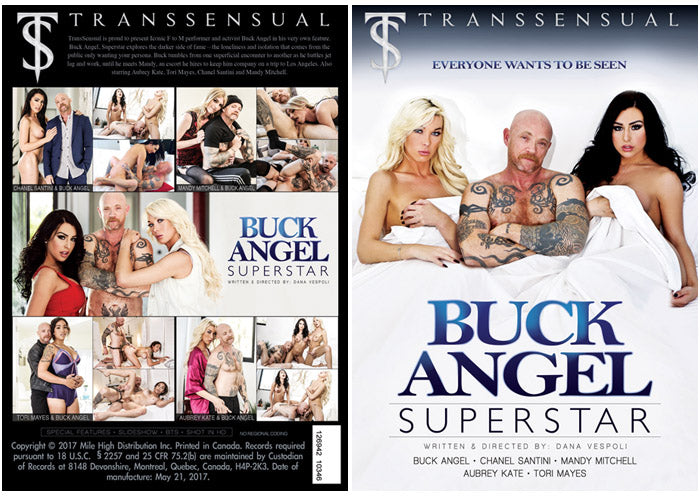 Buck Angel Superstar - TS Transsensual Sealed Transsexual DVD