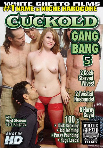 Cuckold Gang Bang #5 - White Ghetto Cheap Adult DVD