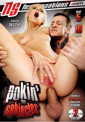 Pokin' The Sphincter - 5 Hours New Sensations 2 Sealed DVD Set