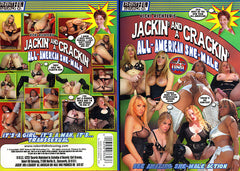 Jackin and a Crackin All American Shemale - Robert Hill Adult XXX Sealed Transsexual DVD