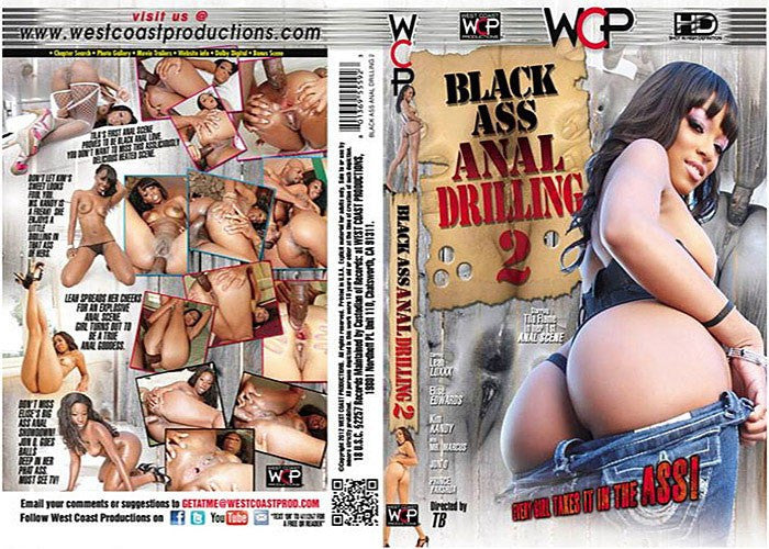 Black Ass Anal Drilling #2 - WCP Sealed DVD