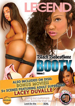 Black Babes Gone Booty #1 & #2 Legend 2 DVDs
