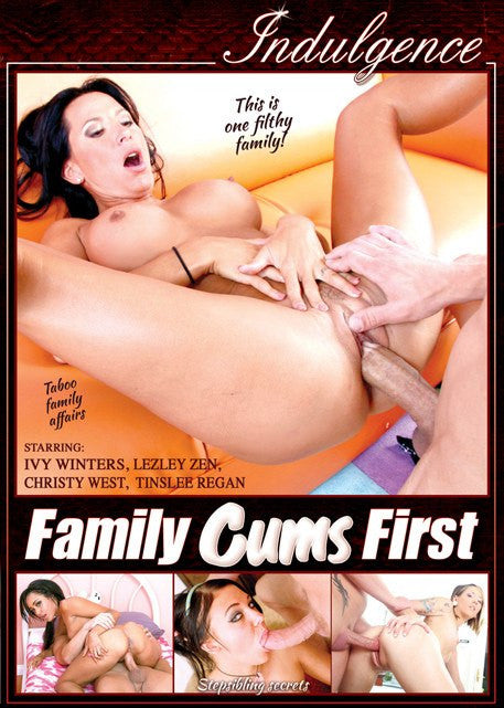 Family Cums First #1 - Indulgence  2016 DVD
