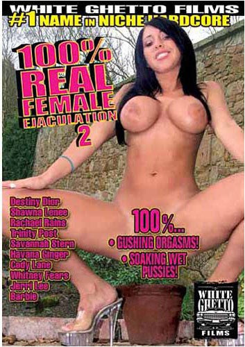 100% Real female Ejaculation #2 - White Ghetto Cheap Adult DVD