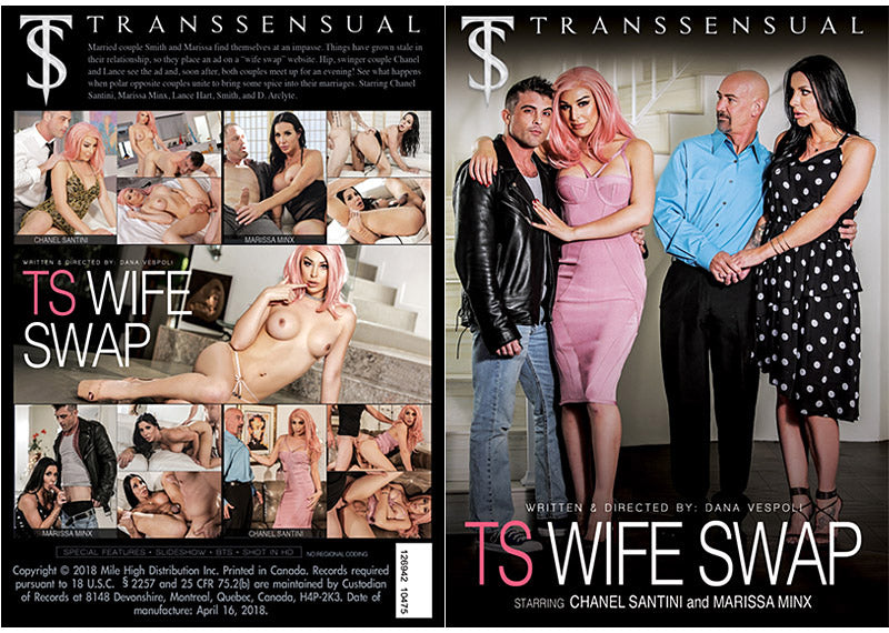 TS Wife Swap #1 - TS Transsensual Sealed Transsexual DVD