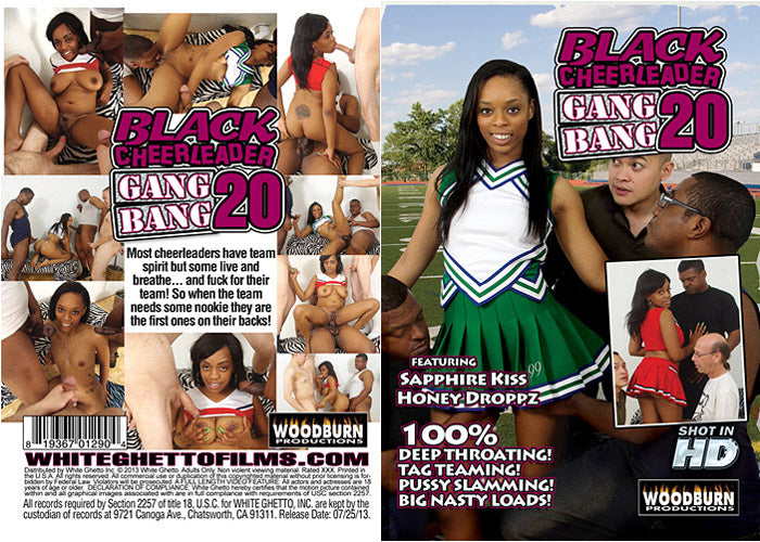 Black Cheerleader Gangbang #20 - Woodburn Sealed DVD