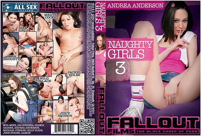 Naughty Girls #3 - Fallout Sealed New Release DVD