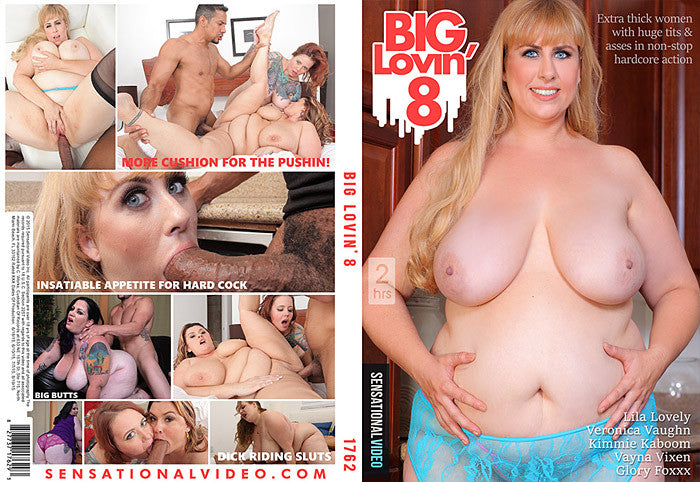 Big Lovin #8 - Sensational Sealed BBW DVD