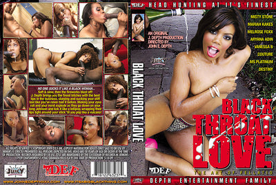 Black Throat Love #1 - Depth Ent Sealed DVD