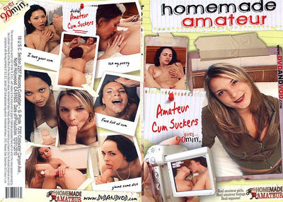 Amateur Cum Suckers  - Homemade Amateurs Adult XXX DVD