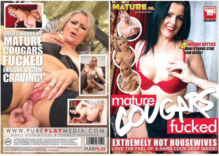 Mature Cougars Fucked #1 - Mature.nl Sealed DVD