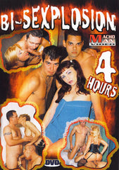 Bi-Sexplosion 4 Hour Bisexual DVD In Sleeve