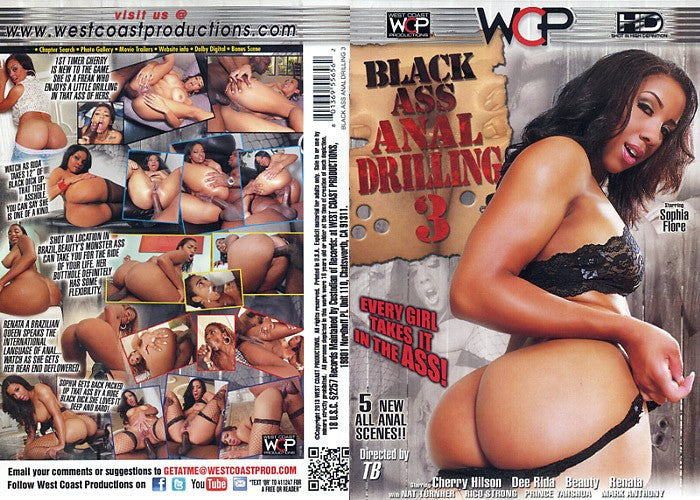 Black Ass Anal Drilling #3 - WCP Sealed DVD