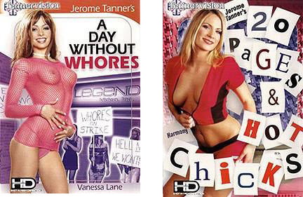 20 Pages/Day Without Whores (cable version/softcore) 2 DVDs (Shipped in White Sleeves)