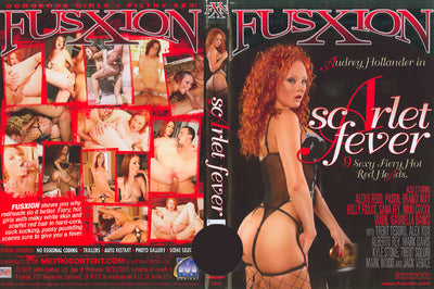 Scarlet Fever (red heads) Fusxion Sealed DVD