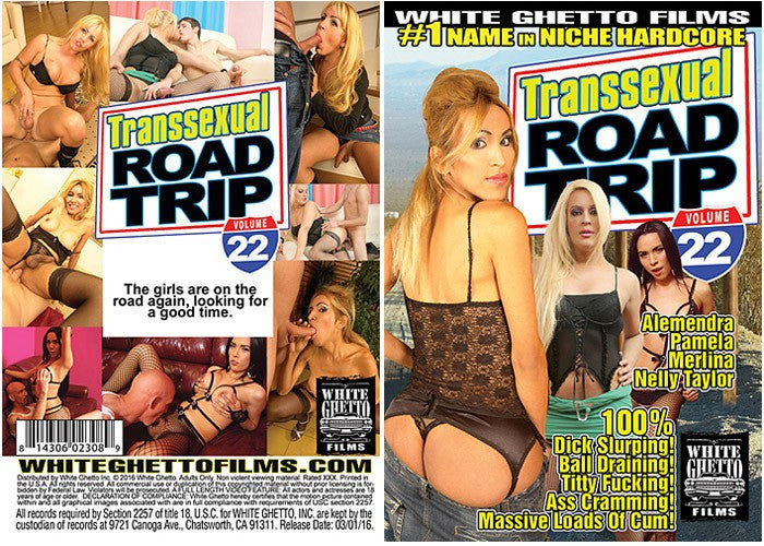 Transsexual Road Trip #22 - White Ghetto 2016 Sealed DVD
