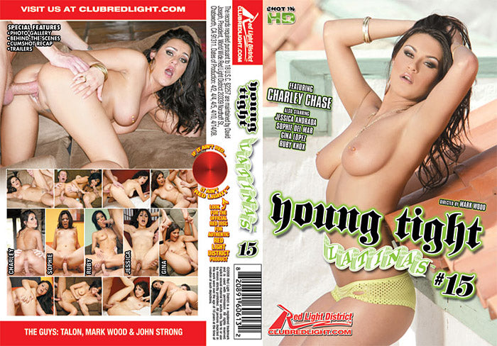 Young Tight Latinas #15 - Red Light - Sealed DVD