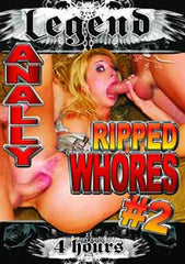 Anally Ripped Whores #1 & #2 - 8 Hour DVD In Sleeve