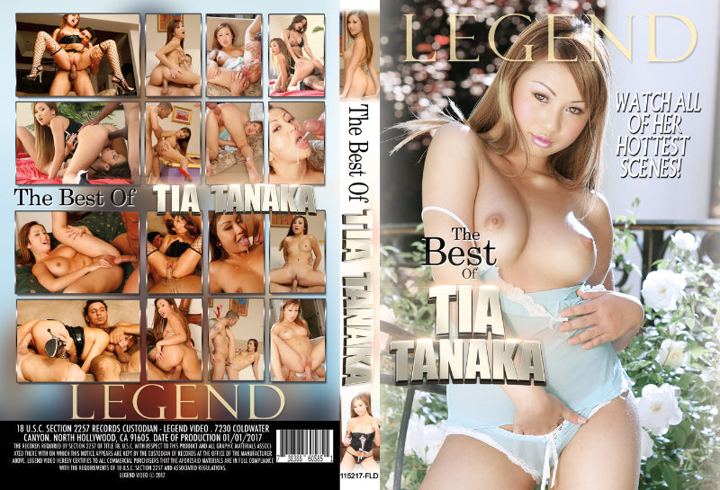 Tia Tanaka, The Best of - 2017 Legend DVD In Sleeve