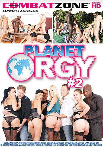 Planet Orgy #2 - Combat Zone DVD in Sleeve