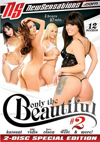 Only The Beautiful #2 - New Sensations 2 Sealed DVD Set