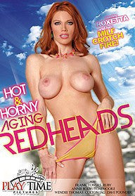 Hot & horny Aging Redheads - 4 Hour DVD.