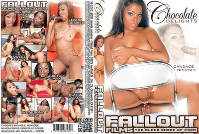 Chocolate Delight #1 - Fallout Adult XXX Sealed DVD