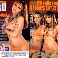 Babes Illustrated #15 (lesbian) Cal Vista Adult Sealed DVD