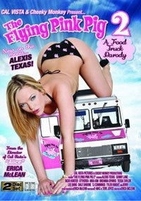 The Flying Pink Pig #2 (Alexis Texas) Cal Vista 2 Adult XXX Sealed DVD Set