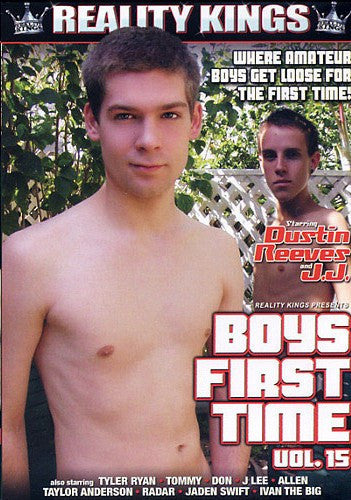 Boys First Time #15 - Reality Kings Gay Sealed DVD