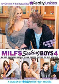 Milfs Seeking Boys #4 - DVD