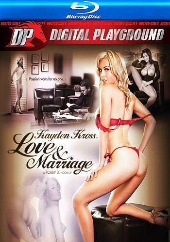 Love and Marriage Blu Ray Digital Playground DVD