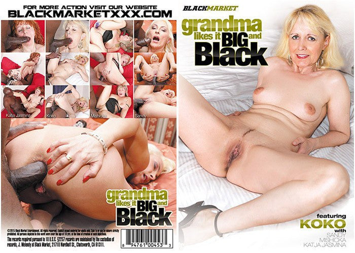 Grandma Likes it Big and Black #1 - Black Market Sealed DVD