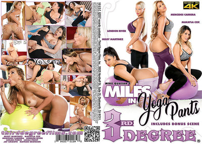 *Milfs in Yoga Pants #1 - 3rd Degree 2018 Sealed DVD