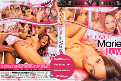 *In Love with Marie Luv (all black) Video Team Sealed DVD