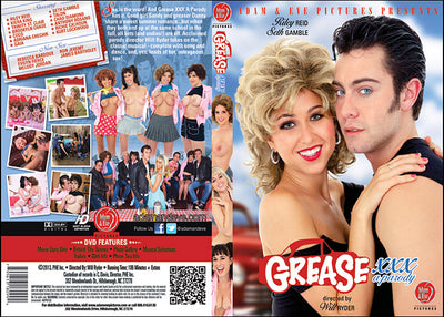 Grease XXX Parody (riley reid) Adam & Eve Sealed DVD