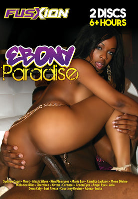 Ebony Paradise 6 Hours Fusxion 2 Sealed DVD Set