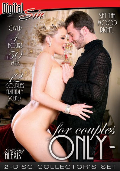 For Couples Only #1 - 5 Hour Digital Sin 2 Sealed DVD Set