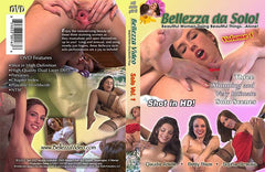 Bellezza Dal Solo #1 - All Girl Solo Adult XXX DVD
