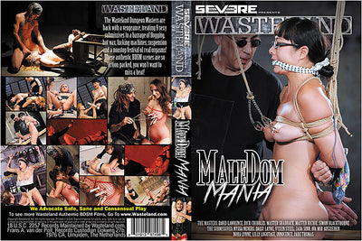 Male Dom Mania - Severe Films  Sealed DVD