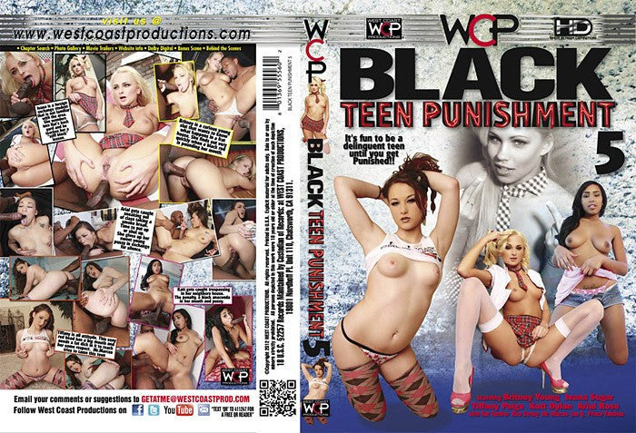 Black Teen Punishment #5 - WCP Sealed DVD
